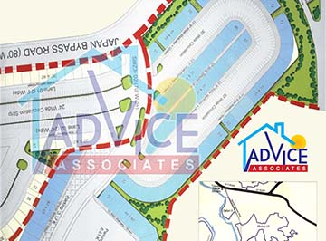 Bahria Town Commercial Maps  